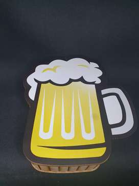 Caja/cajita en forma de cerveza