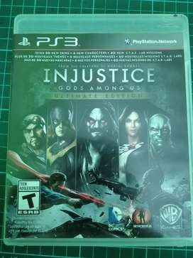 Injustice Ultimate Edition ps3 juego PS3