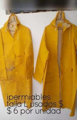 Inpermiables amarillos okok