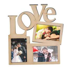 Portaretrato Múltiple Love 3 Fotos(Incluye fotos)