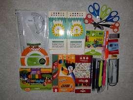 Utiles escolares, cuadernos,carpetas