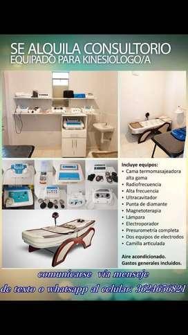 Consultorios medico y kinésico en zona centrica