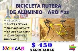 Bicicleta RUTERA DE ALUMINIO