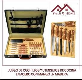 Set de cuchillos BBQ