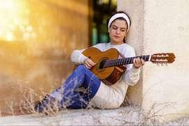 Profesor de guitarra acústica on line con Leonardo Baltan