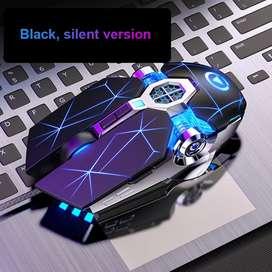 Mouse Gamer luces LED para PC video juegos ergonómico