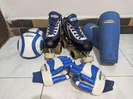 Patines de hockey SP + equipo completo