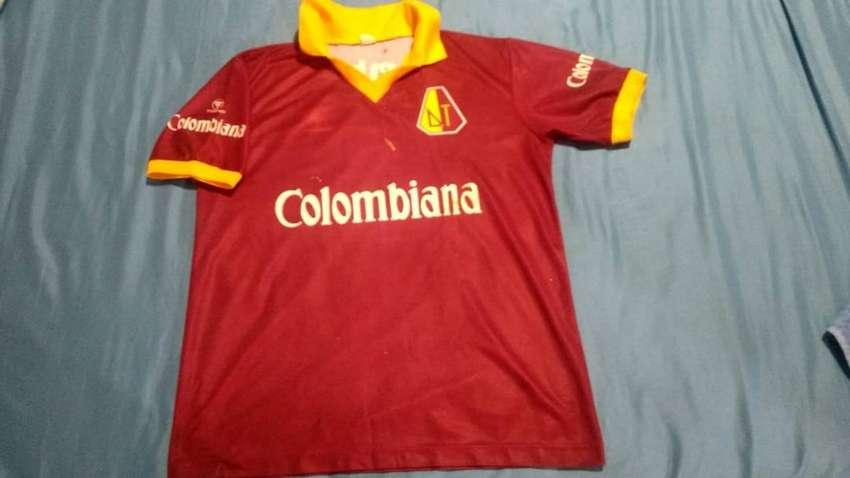 Camiseta Colombiana Deportes Tolima 0