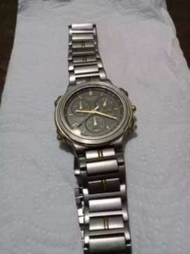 Reloj citizen japonés titanium como nvo