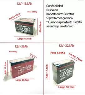 Bateria 12v para Bicicleta Eléctrica