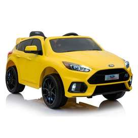Carro A Bateria Ford Focus Rs A Bateria Niños Licenciado