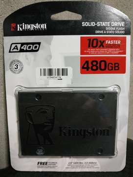 Ssd Kingston A400 / 480gb, Sata 3, 2.5 Pulgadas