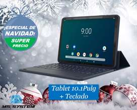 Tablet Con Teclado Onn 10,1 PuLG 16gb Almacenamiento New!