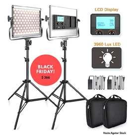 Kit de Luces para Estudio Fotográfico