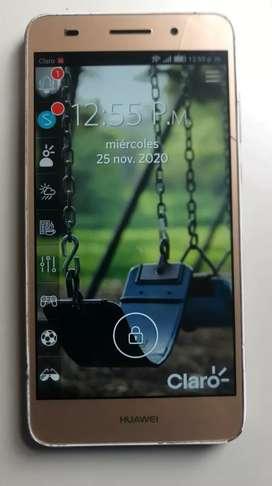 Celular Huawei Y6 II 2 GB RAM 16 GB Almacenamiento pequeña fisura pero no afecta su funcionamiento