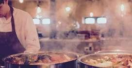 Cocinero y Ayudante.