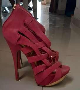 Sandalias de tacón alto