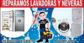 Tecni estrexx lavadoras y neveras