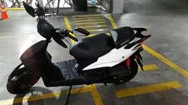 Agility 125 Naked, Modelo 2012