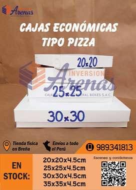 Cajas duplex para pizza - económicas