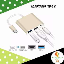 Adaptador tipo c para computadora/laptop/pc