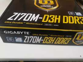 Placa Gigabyte Z170m / sexta /séptima generación /ddr3