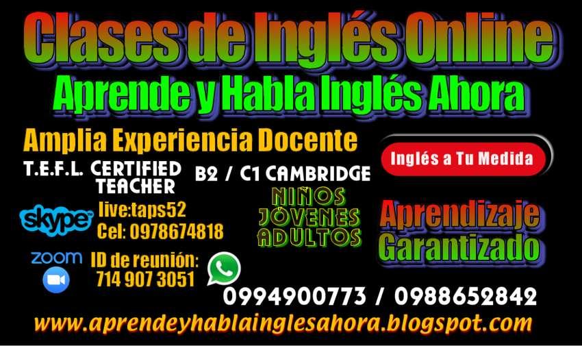 Clases y  Cursos de Inglés Guayaquil Samborondón Durán Online y Presencial