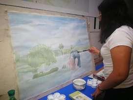 taller de pintura y dibujo colina  campestre