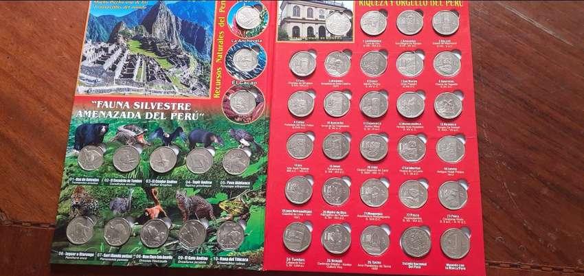 Albun de monedas ,coleccion completa 0