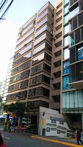Miraflores Oficina Alquiler Pardo cdra.4 cerca Ovalo Miraflores 70m2