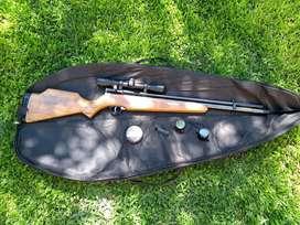 Rifle Menaldi a Gas Cal 5,5mm