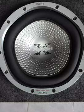 Subwoofer Sony 12 2000wats