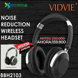 Audifonos Bluetooth Inalámbricos VIDVIE BBH2103