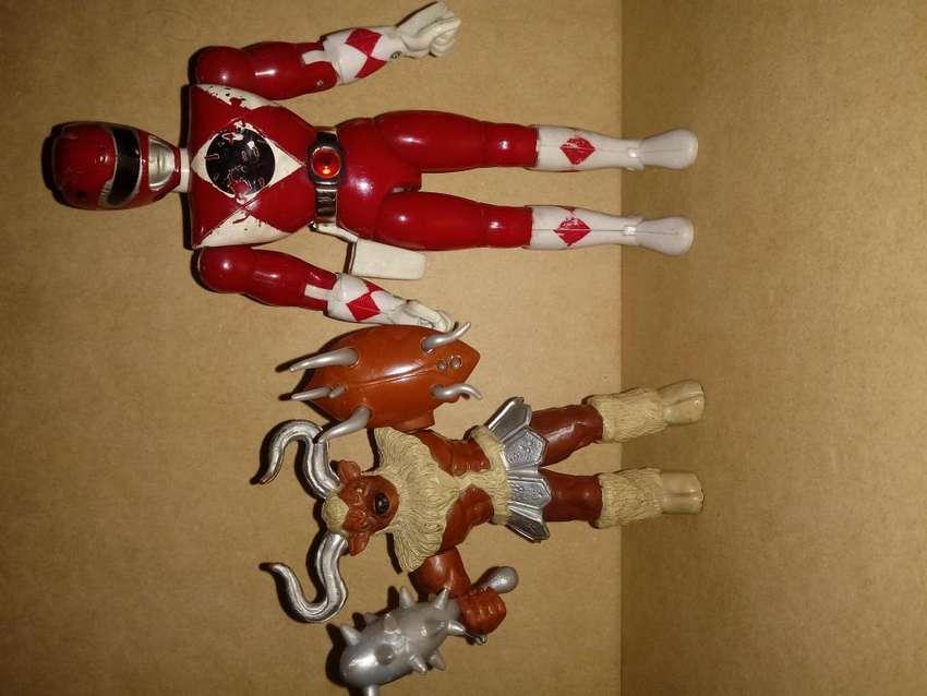 Figuras Power Rangers. Marca Bandai. Año 93 y 94. 0