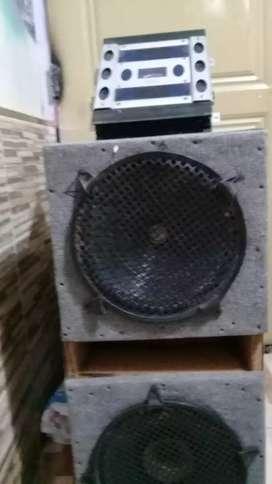 Bendo equipo de audio potensia bufer