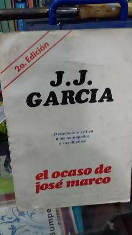 El ocaso de José marco de J J García