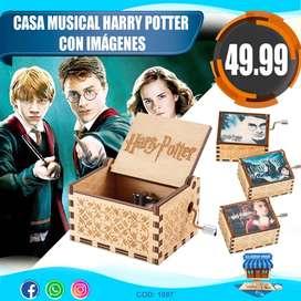 Caja Musical Harry Potter con imágenes