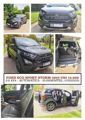 Vendo Eco Sport Storm 4 x 4 -Tope de Gama-