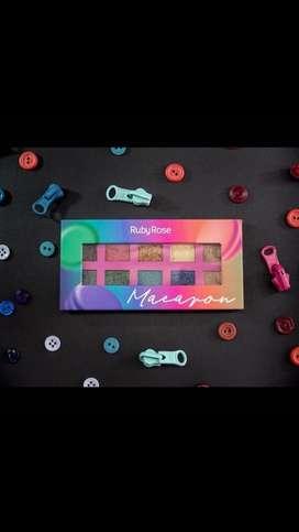 Sombras Ruby Rose Macarron / Tutti-frutti / Cherry / Latte