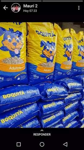 Vendo alimento Boquita x15