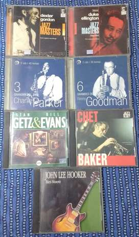 Lote 6 CDs de Jazz (20% Off)