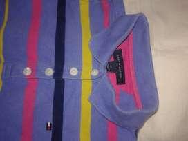 Vestido t4 Tommy  Original chemise tablas perfecto