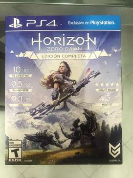 Horizon play station 4 juego