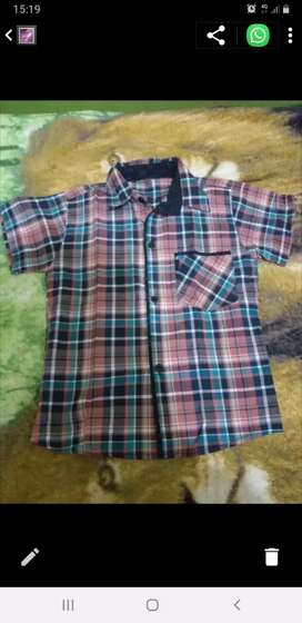 Camisa talle 8 de niño