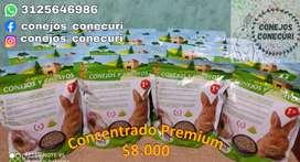 Concentrado Premium para Conejos y Cobayos