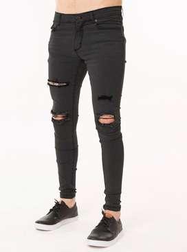 Jeans chupines/elastizados