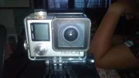 Gopro silver hereo 4