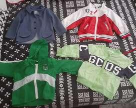 Vendo chaquetas de niño talla 2 8 dr niño12a24