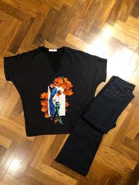 Bluza y pantalon oxford