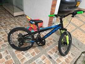 Bicicleta para niño marca cliff